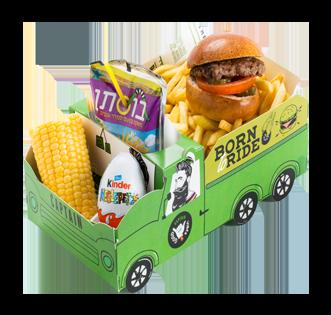 המבורגר משלוחים ילדים