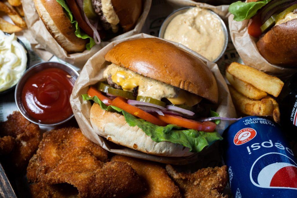 מסעדת המבורגרים