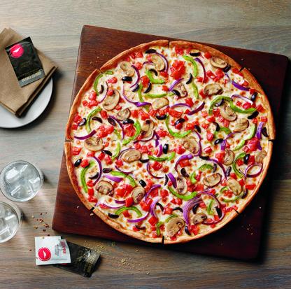 פיצה טבעונית של פיצה האט